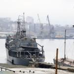 Тихоокеанский флот. Владивосток. Порт.