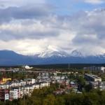 Петропавлоск-Камчатский. Океан.Вулканы