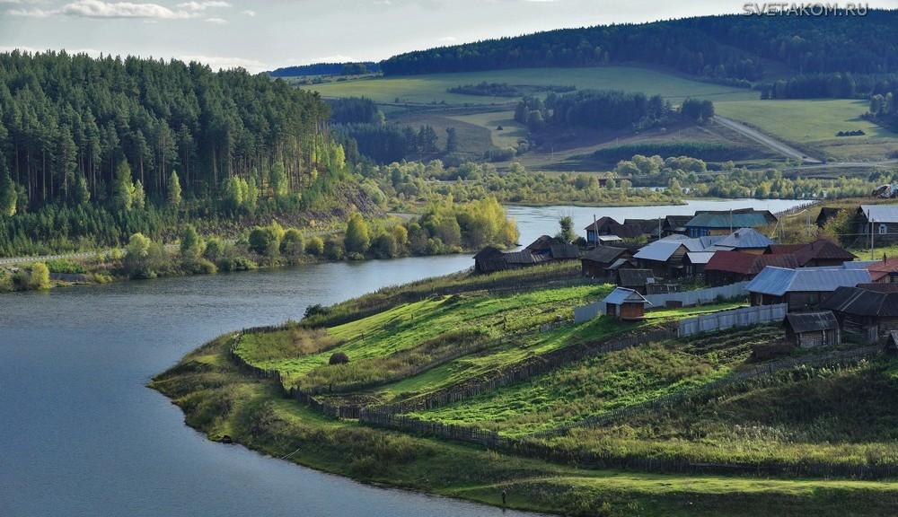 Село Кага Белорецкого района Башкирии34