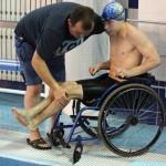 Турнир по плаванию среди детей инвалидов на призы Вениамина Таяновича 08