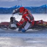 Чемпионат России по мотогонкам на льду 0051