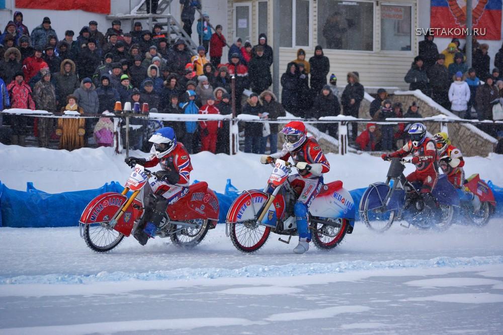 Чемпионат России по мотогонкам на льду 0048