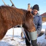 Село Андреевка Аургазинского района. Напоить коня