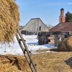 Село Андреевка Аургазинского района. Храм и село