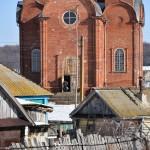 Село Андреевка Аургазинского района. На крыльце храма