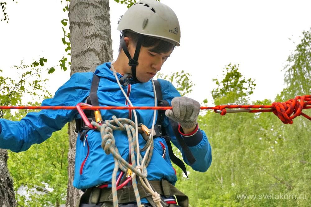 Дети-туристы с ограниченными возможностями. Уфа-2016-10