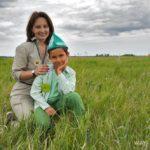 Оксана Тимофеева с сыном