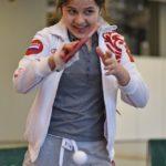 Мадина Назарова. Настольный теннис