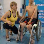 Турнир по плаванию среди детей-инвалидов всех категорий на призы олимпийского чемпиона Вениамина Таяновича 77