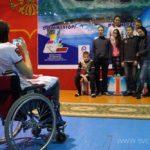 Турнир по плаванию среди детей-инвалидов всех категорий на призы олимпийского чемпиона Вениамина Таяновича 90