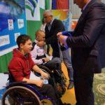 Турнир по плаванию среди детей-инвалидов всех категорий на призы олимпийского чемпиона Вениамина Таяновича 92