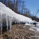 Весна, ледоход на реке 2