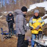 Весна, ледоход на реке 10