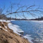 Весна, ледоход на реке 7