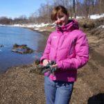 Весна, ледоход на реке 19