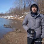 Весна, ледоход на реке 20