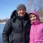 Весна, ледоход на реке 21