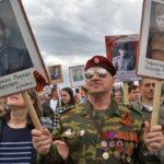 Парад Бессмертного полка в Уфе 082