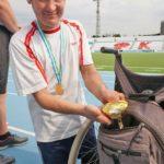 праздничное физкультурно-спортивное мероприятие для инвалидов, посвященное Дню физкультурника. 02