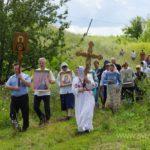 Крестный ход вокруг села Ахлыстино 92