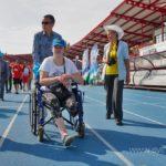 праздничное физкультурно-спортивное мероприятие для инвалидов, посвященное Дню физкультурника. 06