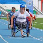 праздничное физкультурно-спортивное мероприятие для инвалидов, посвященное Дню физкультурника. 61