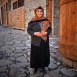 Поселок Лагич Азербайджана.Жительница 45