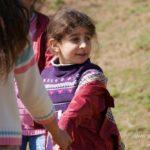 Ученики на перемене. Поселок Анзоли. Азербайджан 3