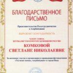 """Выставка Светланы Комковой """"Ьы меня зовешь, Азербайджан!"""" 10"""