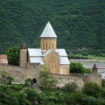Замок Ананури Успенский храм 3