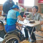 мероприятие среди людей с ограниченными возможностями здоровья, посвященное Дню физкультурника.71